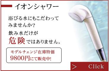 イオンシャワー|千賀栄 イオンシャワー・アトピー・アレルギー予防対策、塩素除去・美肌・スキンケア・フケ対策のイオンシャワーヘッド|eaupureオーピュール
